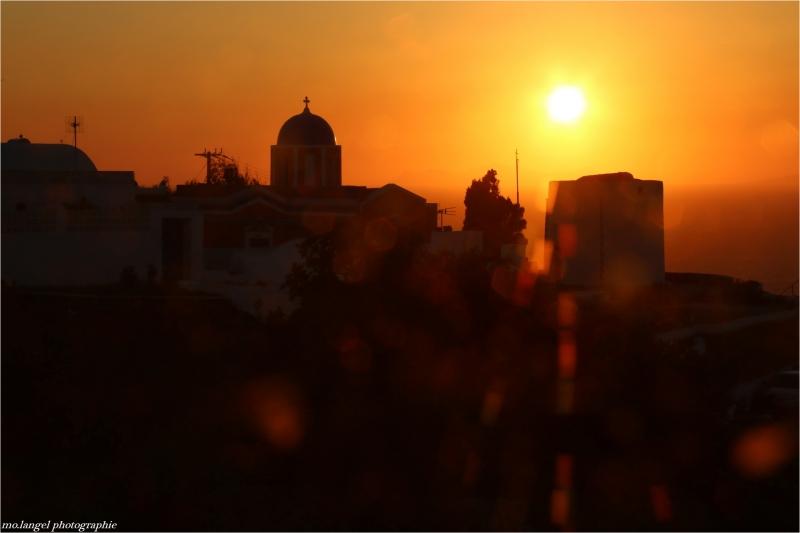 Sunset to Santorin