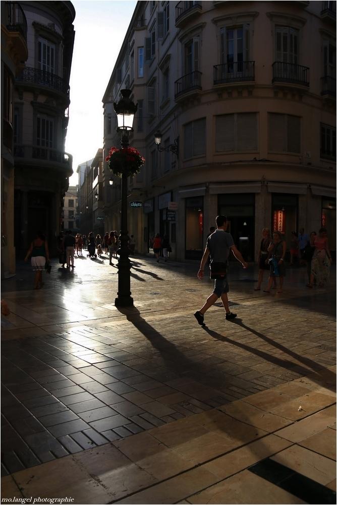 Dans les rues de la ville