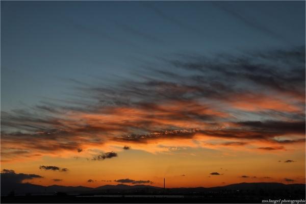 Le ciel embrase l'Andalousie