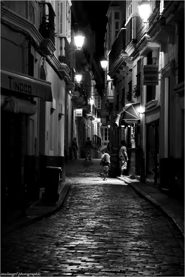 Dans les rues de Cadix