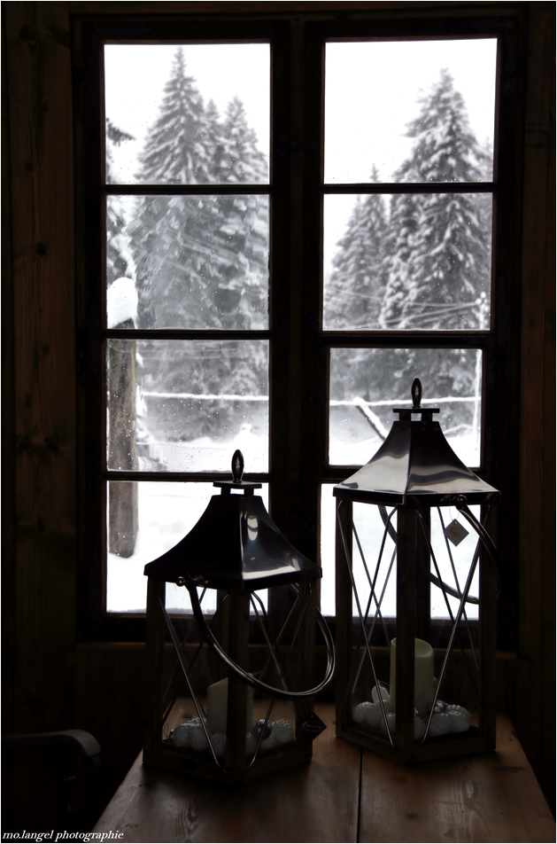 L'hiver à la fenêtre