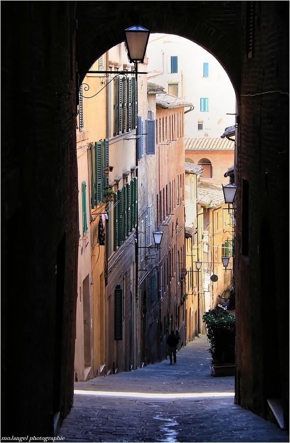 Dans les rues de Sienne