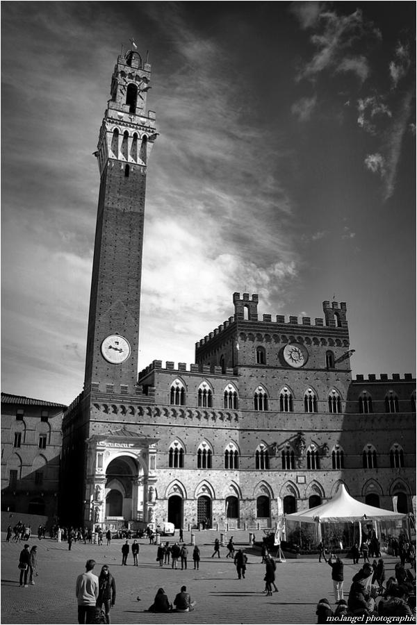 Le Palazzo Pubblico et la Torre del Mangia