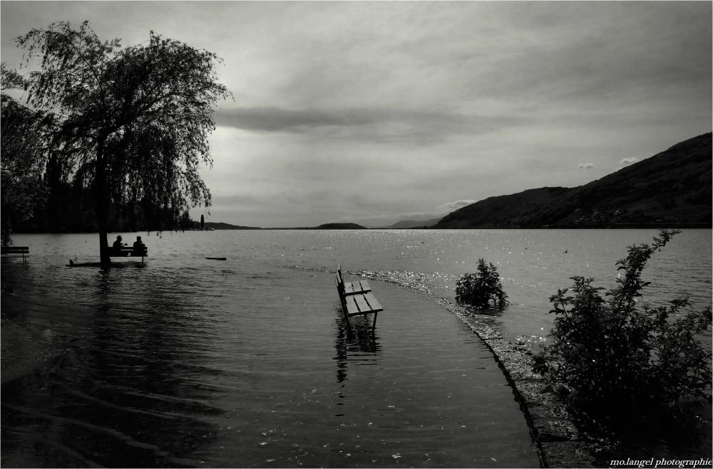 Quand le lac de Bienne déborde