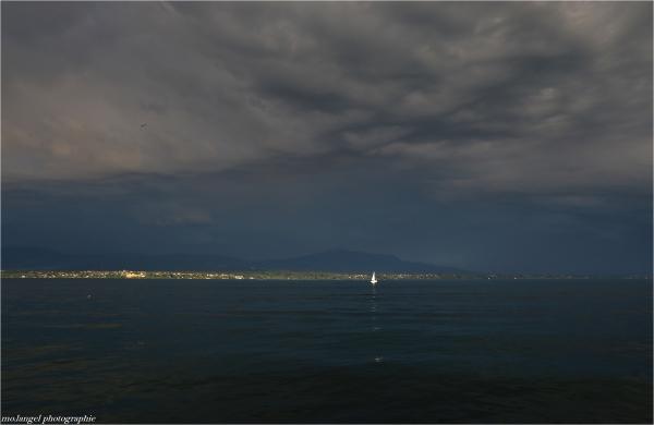 L'orage menace