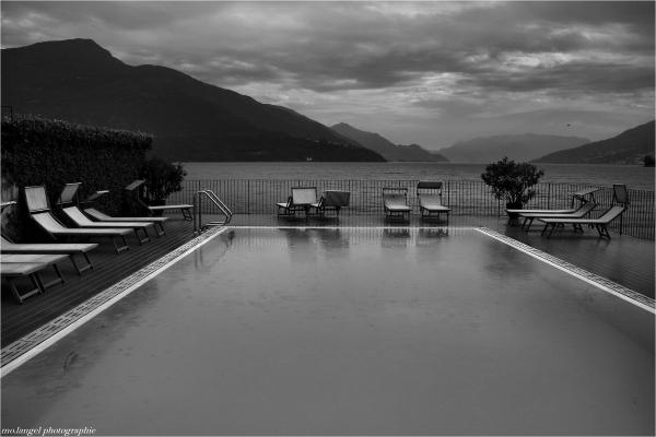 Il pleut sur l'été italien