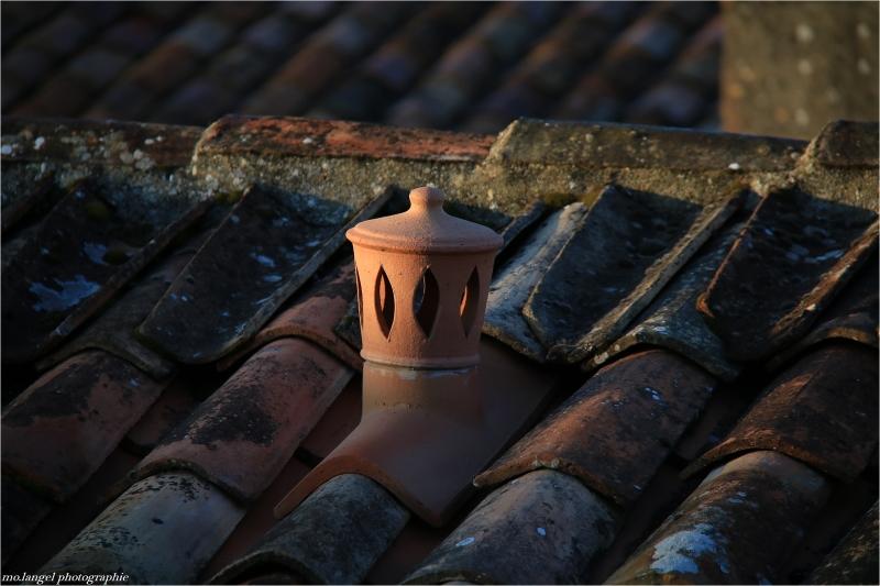 Sur les toits de l'île