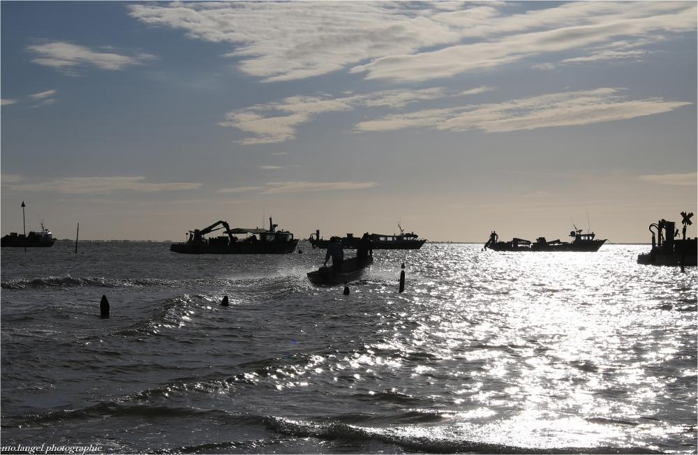 le départ des pêcheurs