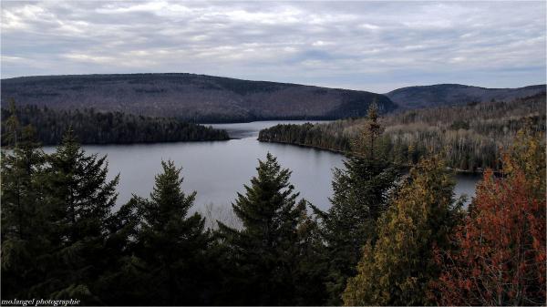 Le lac Sacacomie