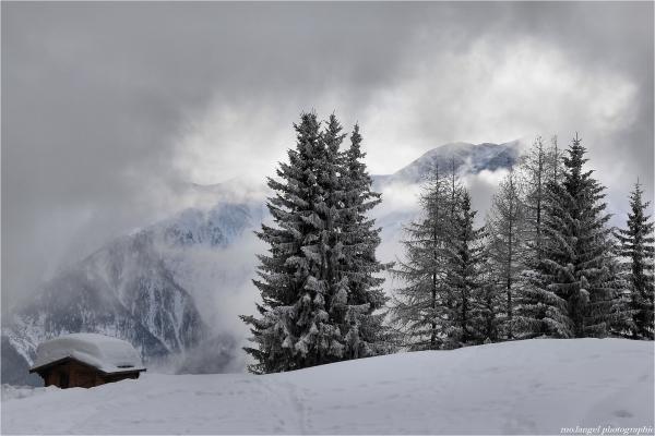 Eclaircie en montagne