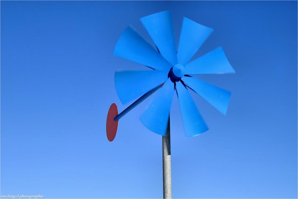 Le vent dans l'hélice