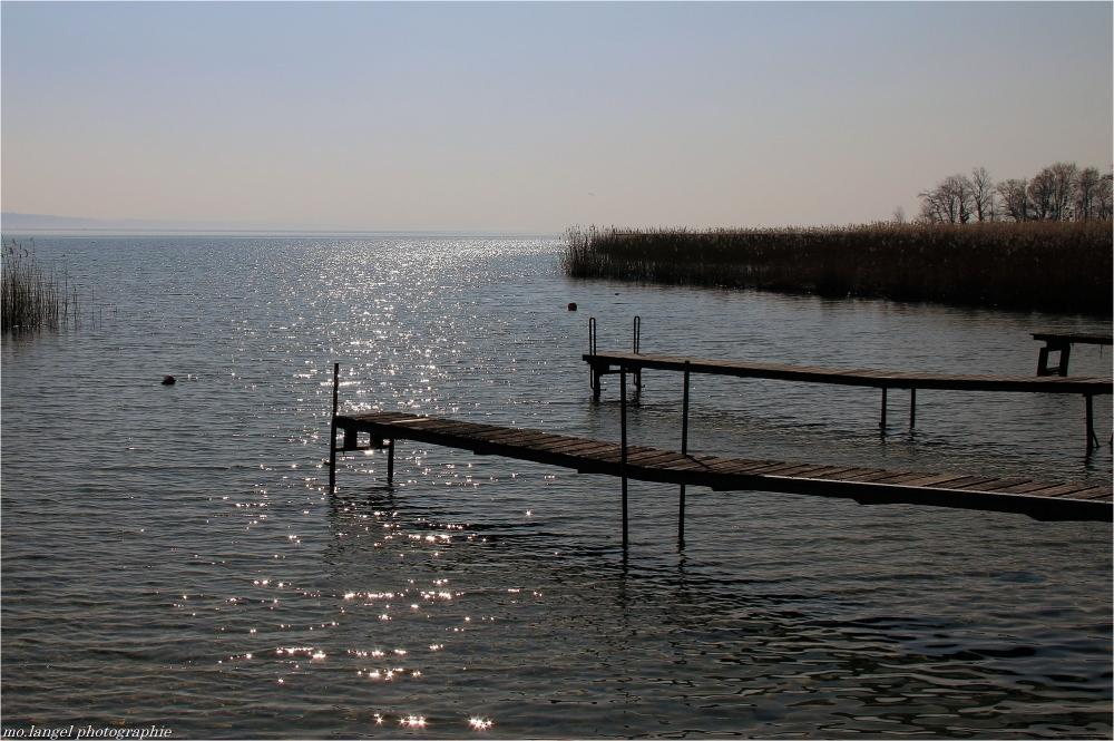 Face au lac