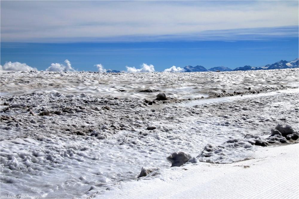 Une mer de glace