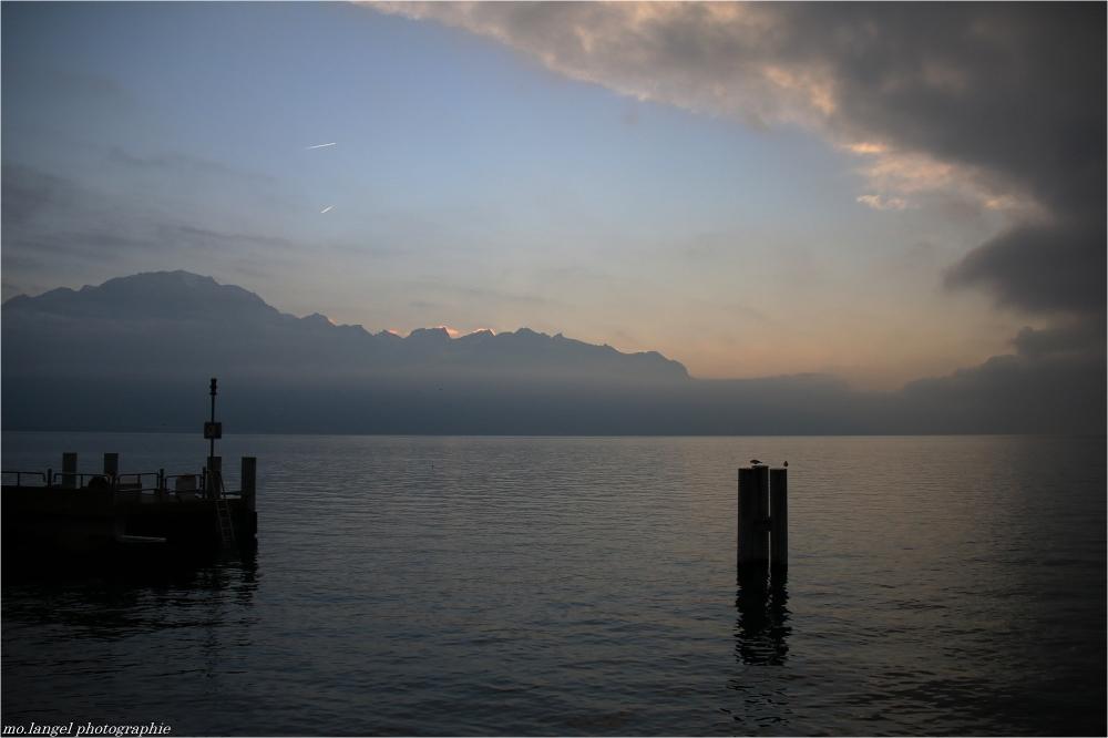 Éclaircie sur le lac