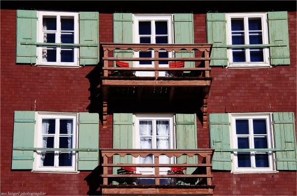 Balcons bien exposés
