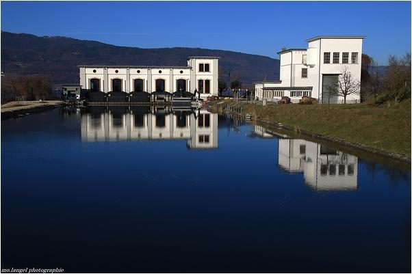 Ancienne usine hydroélectrique