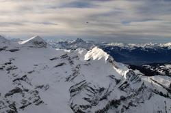 Vol au dessus des Alpes