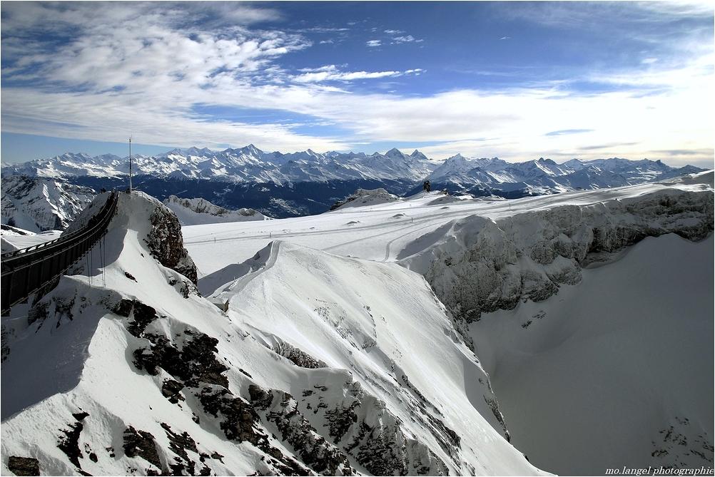 Le glacier 3000