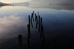 Le calme du lac