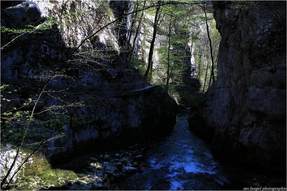 Randonnée dans les gorges