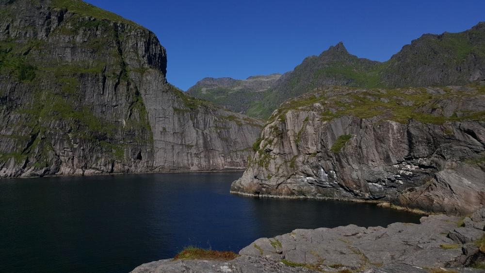 Sur les bords du fjord