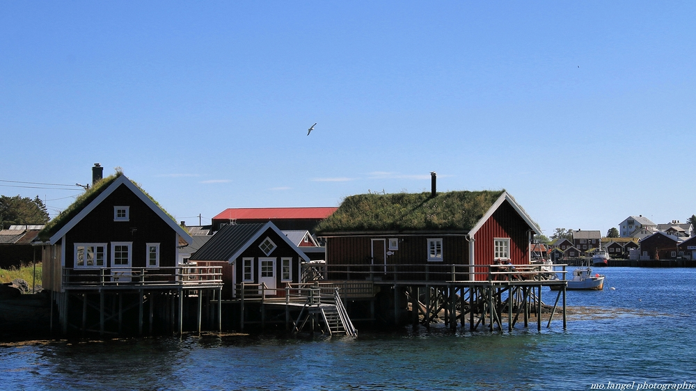 Les maisons de pêcheurs