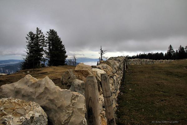 Le mur de pierres sèches