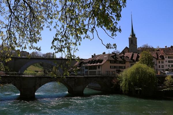 Les ponts sur l'Aar
