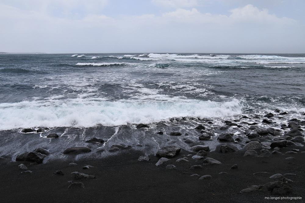 La plage noire