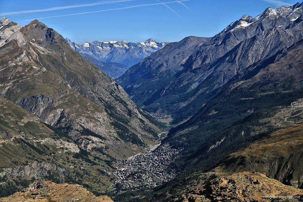 La vallée de Zermatt