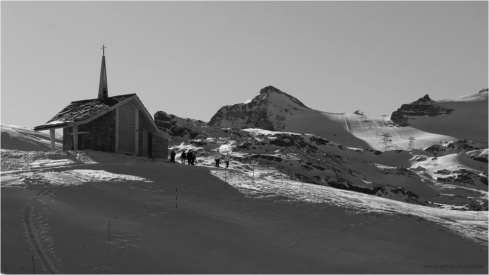 La petite chapelle des neiges