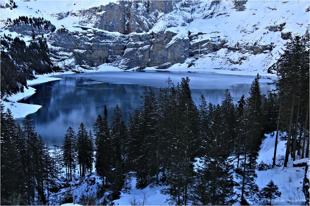 Le lac d'Oeschinen