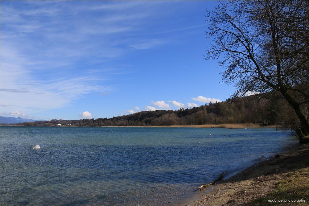 Sur les rives du lac