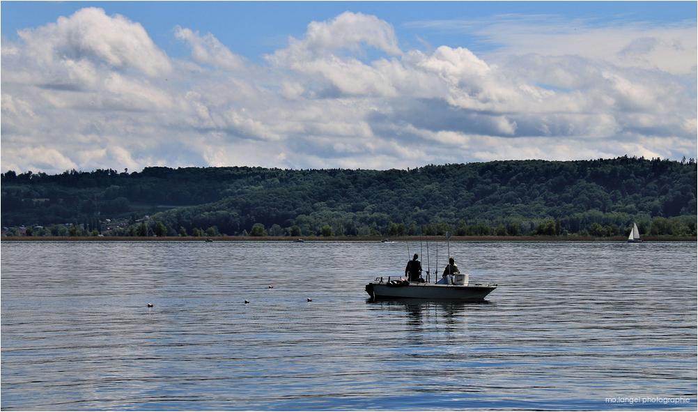 Les pêcheurs du lac