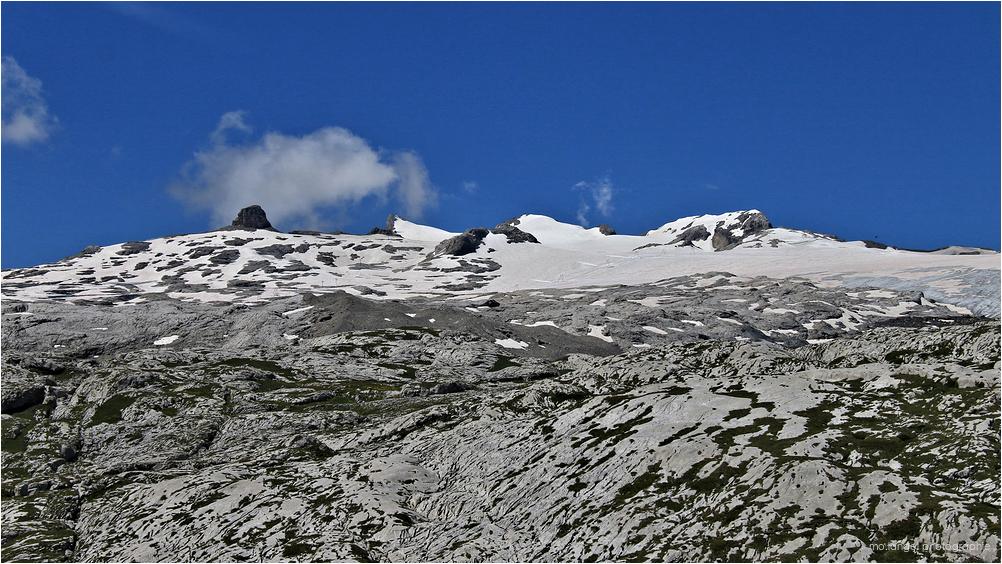 Le glacier de Tsanfleuron