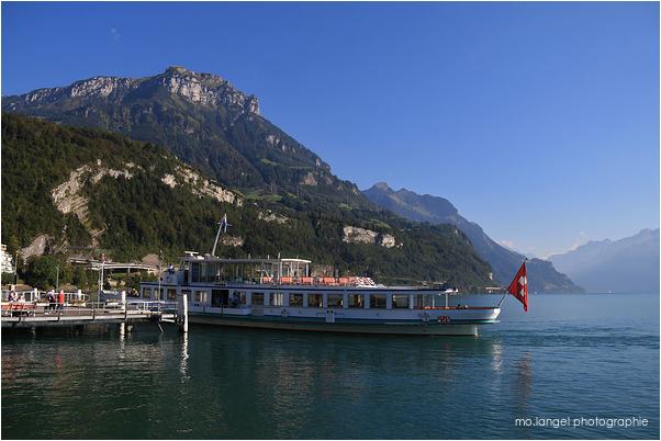 Le bateau du lac