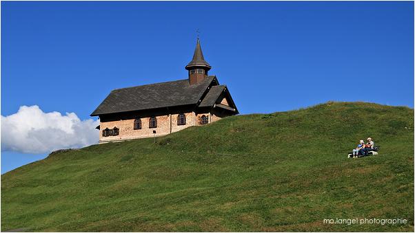 La chapelle en bois