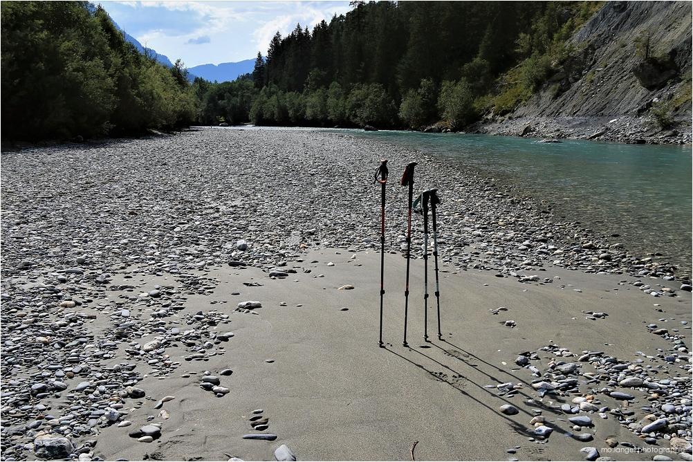 Randonnée dans les gorges du Rhin