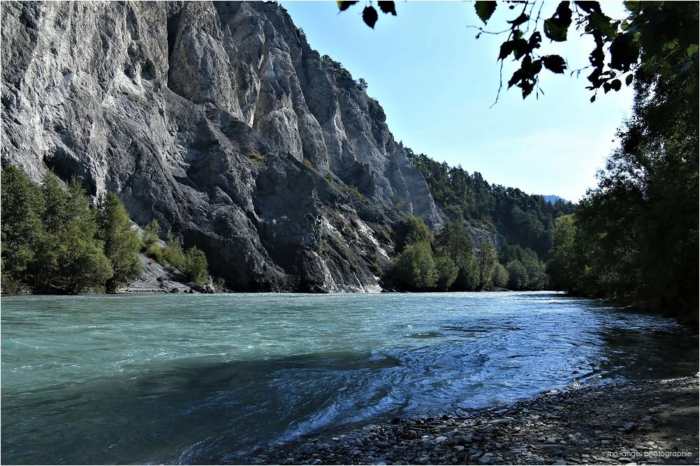 Les gorges du Rhin
