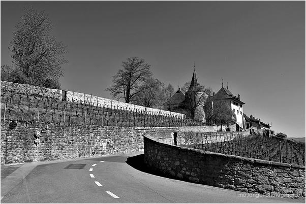 La route du château