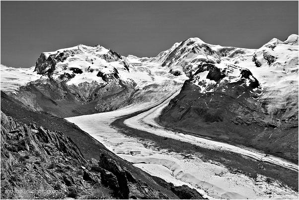Le glacier du Gorner