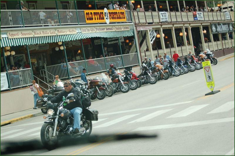 une concentration annuelle de motos