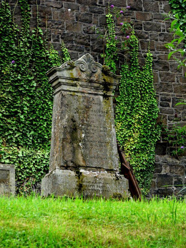 balade au cimetière de Stirling, Ecosse.