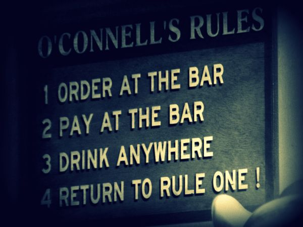 O'Connell's rules