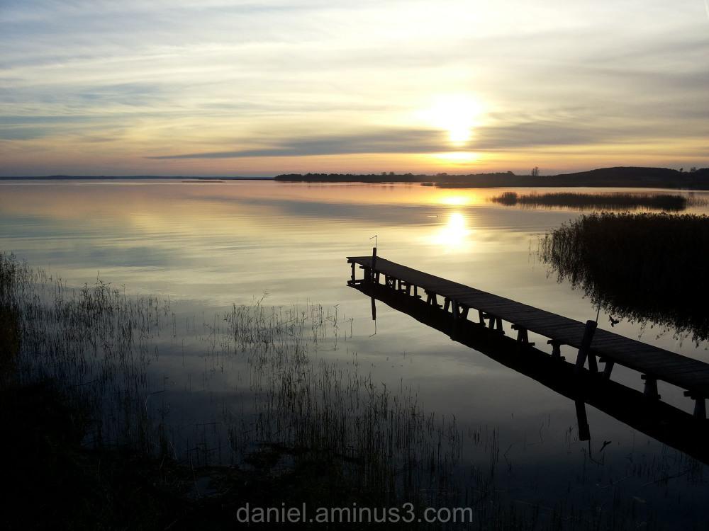 Sunset, Śniardwy Lake