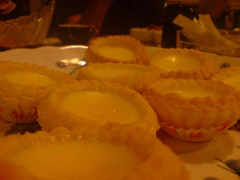 Egg Tart..