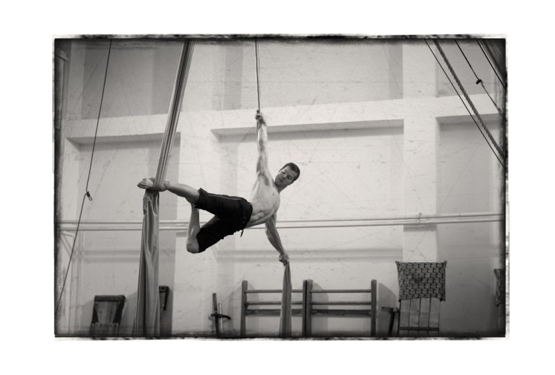 The Life of hungarian circus Artistes