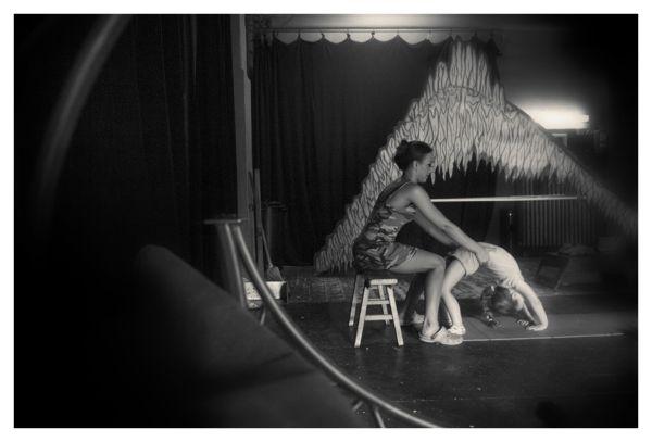Hungarian Circus Backstage