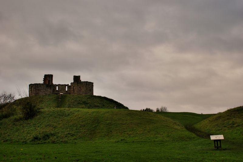 Stafford Castle Cloudy