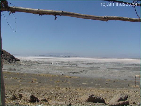 Kurdistan(Urmia lake bridge)